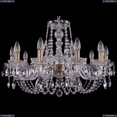 1406/10/240/Pa Хрустальная подвесная люстра Bohemia Ivele Crystal
