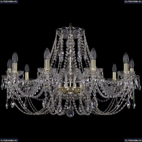 1406/10/300/G Хрустальная подвесная люстра Bohemia Ivele Crystal