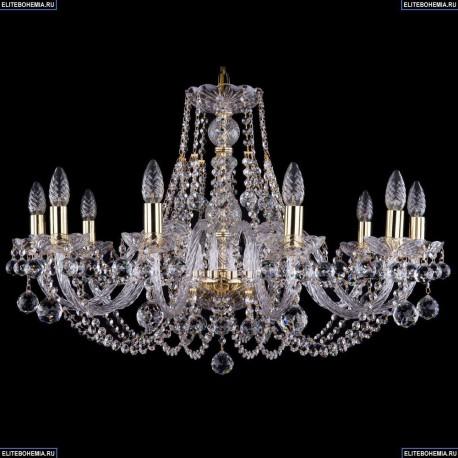 1406/10/300/G/Balls Хрустальная подвесная люстра Bohemia Ivele Crystal