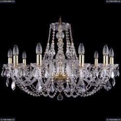1406/10/300/G/Leafs Хрустальная подвесная люстра Bohemia Ivele Crystal (Богемия)