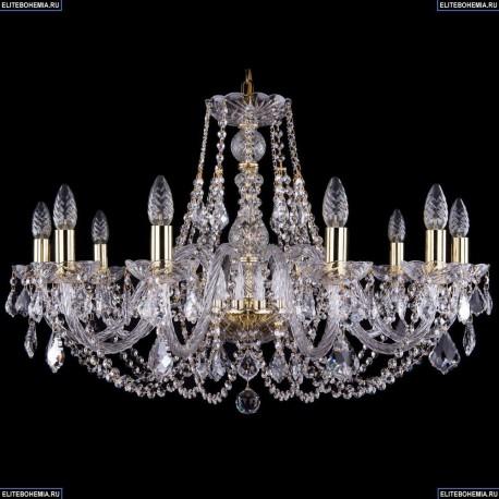 1406/10/300/G/Leafs Хрустальная подвесная люстра Bohemia Ivele Crystal