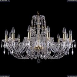 1406/12/300/G Хрустальная подвесная люстра Bohemia Ivele Crystal