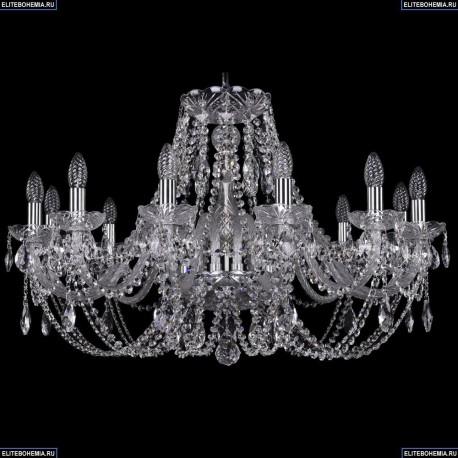1406/12/300/Ni Хрустальная подвесная люстра Bohemia Ivele Crystal