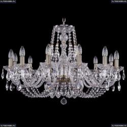 1406/12/300/Pa Хрустальная подвесная люстра Bohemia Ivele Crystal