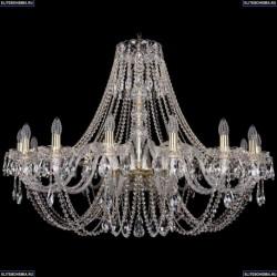 1406/16/400/G Хрустальная подвесная люстра Bohemia Ivele Crystal