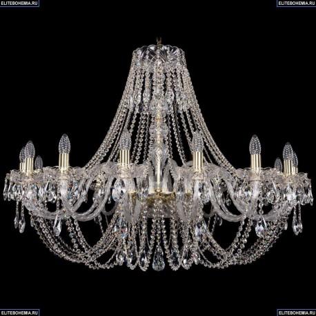 1406/16/400/G Хрустальная подвесная люстра Bohemia Ivele Crystal (Богемия)