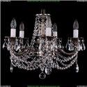 1702/5/CK175IV/C/NB Хрустальная подвесная люстра Bohemia Ivele Crystal