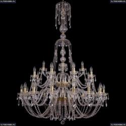 1406/16+8+4/400/XL-160/2d/G Хрустальная подвесная люстра Bohemia Ivele Crystal