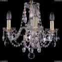 1406/3/141/G Хрустальная подвесная люстра Bohemia Ivele Crystal