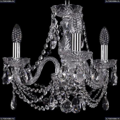 1406/3/141/Ni Хрустальная подвесная люстра Bohemia Ivele Crystal