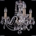 1406/3/141/Pa Хрустальная подвесная люстра Bohemia Ivele Crystal