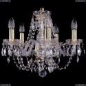 1406/5/141/G Хрустальная подвесная люстра Bohemia Ivele Crystal (Богемия)