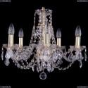 1406/5/160/G/Balls Хрустальная подвесная люстра Bohemia Ivele Crystal