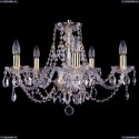 1406/5/195/G Хрустальная подвесная люстра Bohemia Ivele Crystal