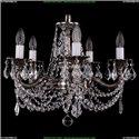1701/5/181/C/NB/Leafs Хрустальная подвесная люстра Bohemia Ivele Crystal