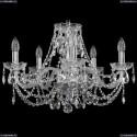 1406/5/195/Ni Хрустальная подвесная люстра Bohemia Ivele Crystal
