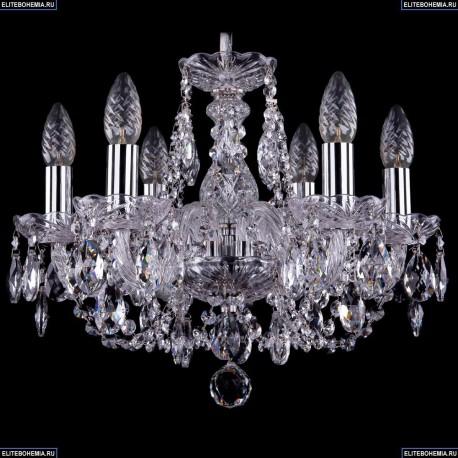 1406/6/141/Ni Хрустальная подвесная люстра Bohemia Ivele Crystal