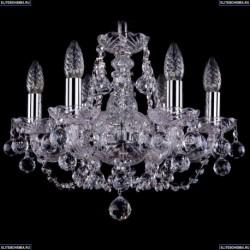 1406/6/141/Ni/Balls Хрустальная подвесная люстра Bohemia Ivele Crystal