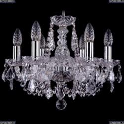 1406/6/141/Ni/Leafs Хрустальная подвесная люстра Bohemia Ivele Crystal