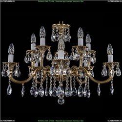 1702/5+5/265+110/A/GB Хрустальная подвесная люстра Bohemia Ivele Crystal