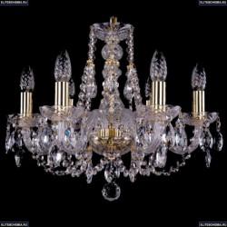 1406/6/195/G Хрустальная подвесная люстра Bohemia Ivele Crystal