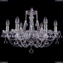 1406/6/195/Ni/Balls Хрустальная подвесная люстра Bohemia Ivele Crystal