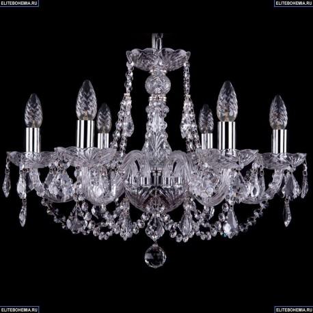 1406/6/195/Ni/Leafs Хрустальная подвесная люстра Bohemia Ivele Crystal