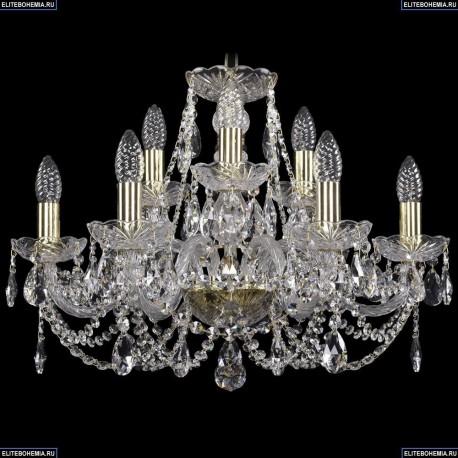 1406/6+3/195/G Хрустальная подвесная люстра Bohemia Ivele Crystal
