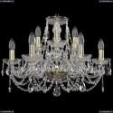 1406/6+3/195/G Хрустальная подвесная люстра Bohemia Ivele Crystal (Богемия)