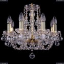 1406/8/141/G/Balls Хрустальная подвесная люстра Bohemia Ivele Crystal