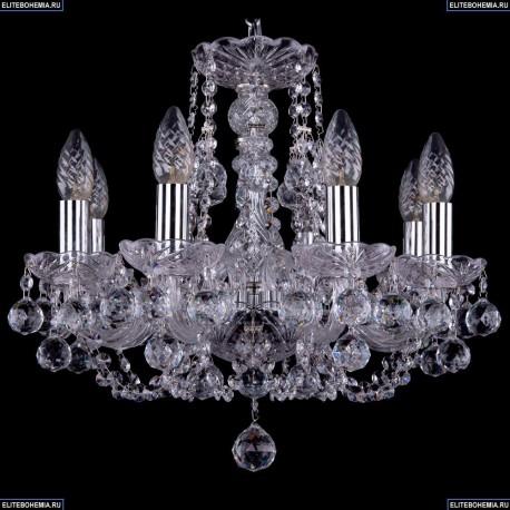1406/8/141/Ni/Balls Хрустальная подвесная люстра Bohemia Ivele Crystal