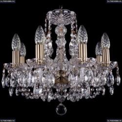 1406/8/141/Pa Хрустальная подвесная люстра Bohemia Ivele Crystal
