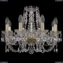 1406/8/160/G Хрустальная подвесная люстра Bohemia Ivele Crystal