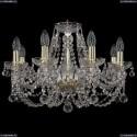 1406/8/195/G/Balls Хрустальная подвесная люстра Bohemia Ivele Crystal (Богемия)