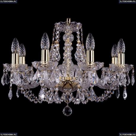 1406/8/195/G/Leafs Хрустальная подвесная люстра Bohemia Ivele Crystal