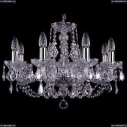 1406/8/195/Ni/Leafs Хрустальная подвесная люстра Bohemia Ivele Crystal