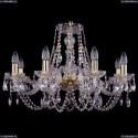 1406/8/240 Хрустальная подвесная люстра Bohemia Ivele Crystal (Богемия)