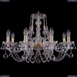 1406/8/240/G/Balls Хрустальная подвесная люстра Bohemia Ivele Crystal