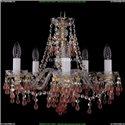 1410/5/160/G/V7010 Хрустальная подвесная люстра Bohemia Ivele Crystal