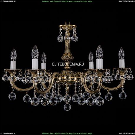 1702/6/A/GB/Balls Подвесная люстра Bohemia Ivele Crystal (Богемия)