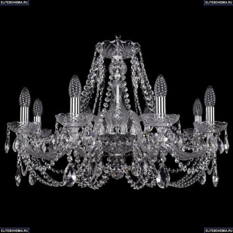 1406/8/240/Ni Хрустальная подвесная люстра Bohemia Ivele Crystal