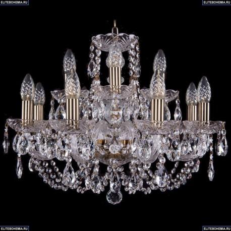 1406/8+4/195/Pa Хрустальная подвесная люстра Bohemia Ivele Crystal