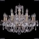 1406/8+4/195/Pa Хрустальная подвесная люстра Bohemia Ivele Crystal (Богемия)