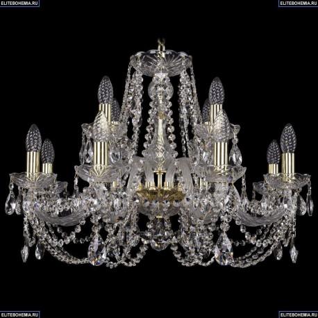 1406/8+4/240/G Хрустальная подвесная люстра Bohemia Ivele Crystal