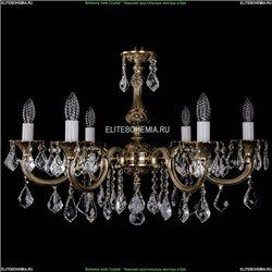 1702/6/250/A/GB/Leafs Хрустальная подвесная люстра Bohemia Ivele Crystal