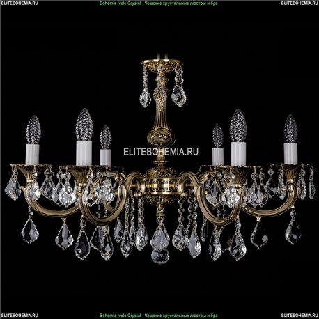 1702/6/A/GB/Leafs Подвесная люстра Bohemia Ivele Crystal (Богемия)