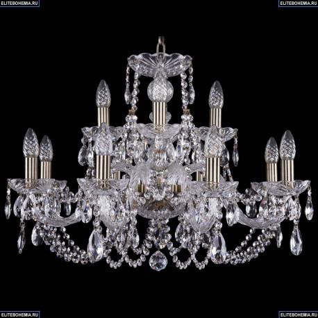 1406/8+4/240/Pa Хрустальная подвесная люстра Bohemia Ivele Crystal