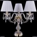 1406L/3/141-39/G/SH13-160 Хрустальная настольная лампа Bohemia Ivele Crystal