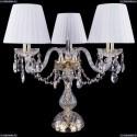 1406L/3/141-39/G/SH2-160 Хрустальная настольная лампа Bohemia Ivele Crystal