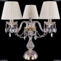 1406L/3/141-39/G/SH3-160 Хрустальная настольная лампа Bohemia Ivele Crystal